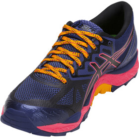 asics Gel-Fujitrabuco 6 G-TX Shoes Women Blue Print/Black